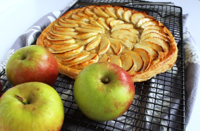 Apples then tart