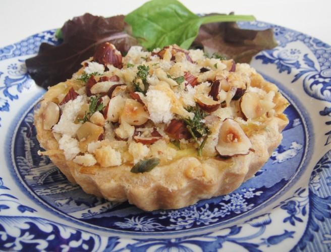 Leek Crumble tart (2)