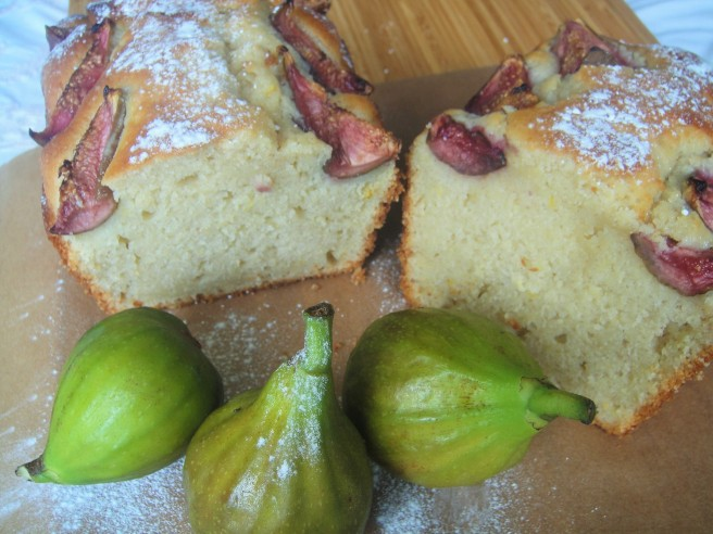 Fig and Yoghurt Cake