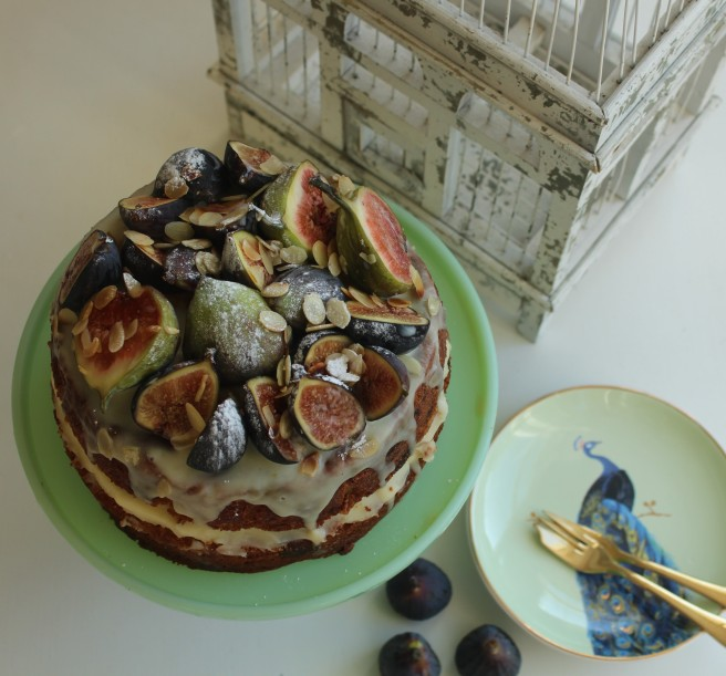 Fig birthday cake