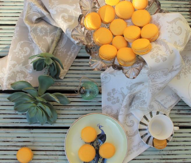 Bergamot Macarons 1