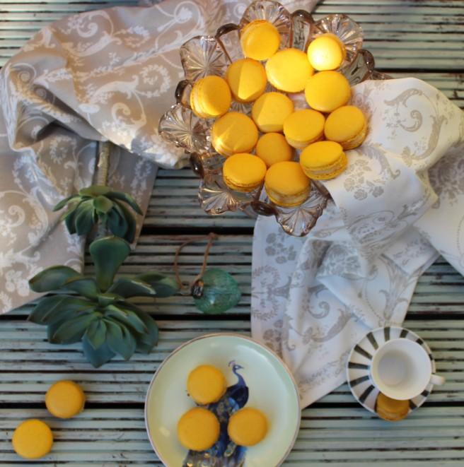 Bergamot Macarons 3